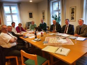 Wer wir sind Stiftungsratssitzung im April 2014